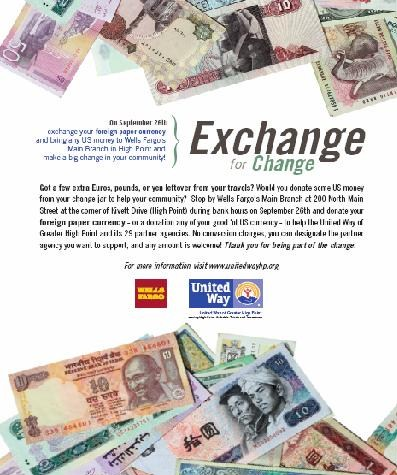 Wells Fargo United Way Offer Exchange For Change On