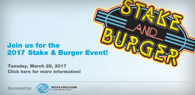 2017 Stake and Burger Event